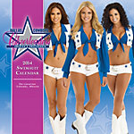 Dallas Cowboys Cheerleaders 2014 15x15 Swimsuit Wall Calendar