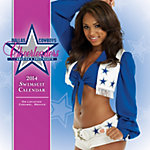 Dallas Cowboys Cheerleaders 2014 7x7 Swimsuit Mini Calendar