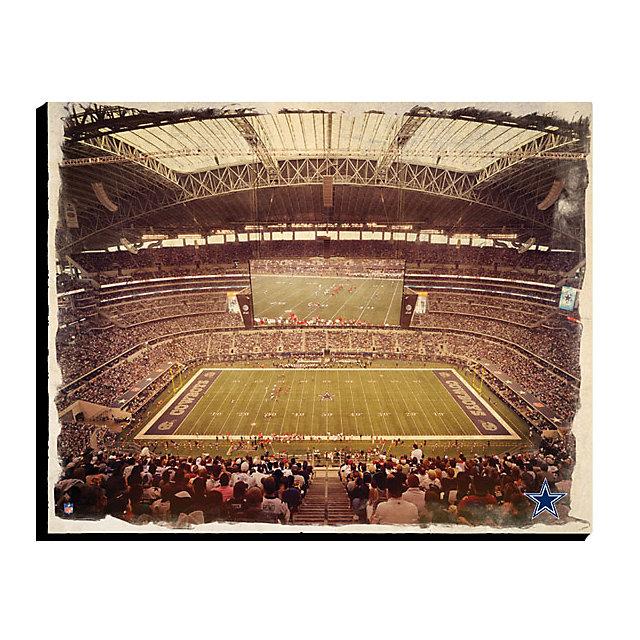 Dallas Cowboys Canvas Art - Water Color 16x20