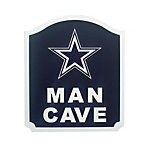 Dallas Cowboys Man Cave Shield Sign