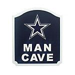 Dallas Cowboys Man Cave Shield Sign