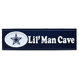 Dallas Cowboys Lil Man Cave Sign