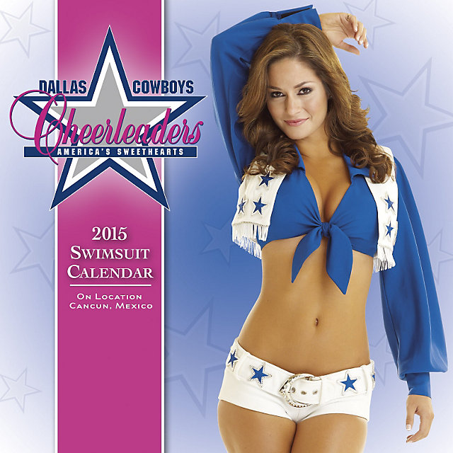 Dallas Cowboys Cheerleaders 2015 Swimsuit Box Calendar
