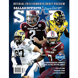Dallas Cowboys Star Magazine Draft Preview Issue 2014