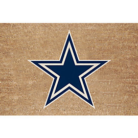 Dallas Cowboys Colored Logo Door Mat