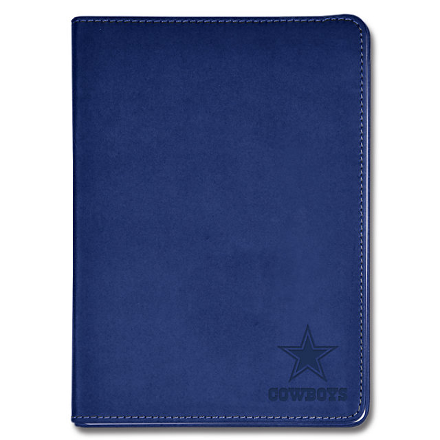 Dallas Cowboys Blue Embossed Journal