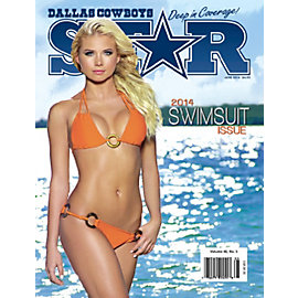 Dallas Cowboys Star Magazine Swimsuit Issue 2014