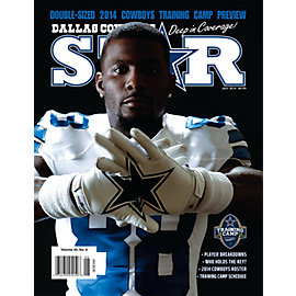 Dallas Cowboys Star Magazine Training Camp Preview Issue 2014