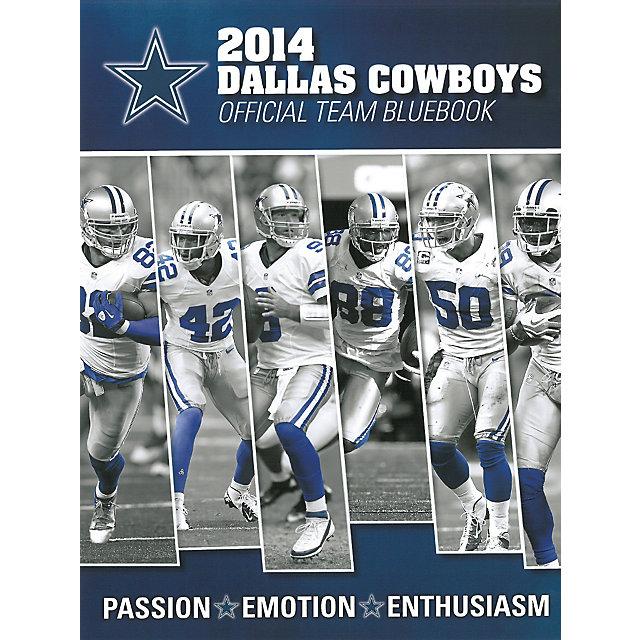 Dallas Cowboys 2014 Official Team Bluebook