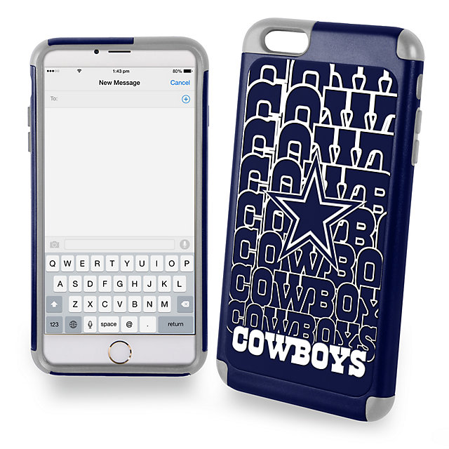 Dallas Cowboys iPhone 6 Plus Hybrid Case