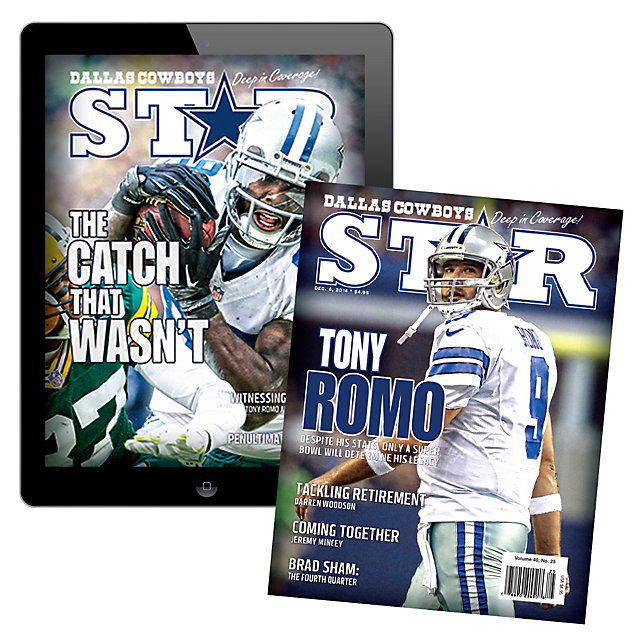 Dallas Cowboys Star Magazine Print/Digital Bundle