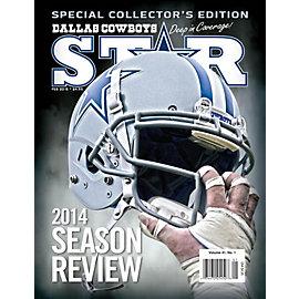 Dallas Cowboys Star Magazine February 2015 Issue: 2014 Season Review
