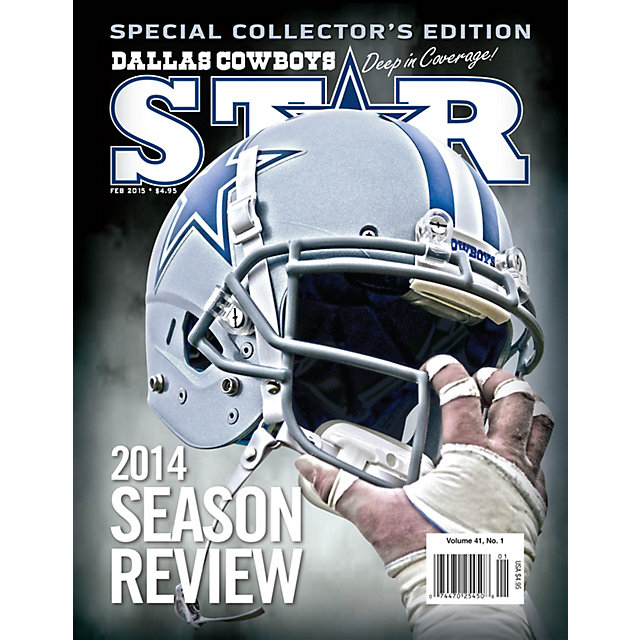 Dallas Cowboys Star Magazine February 2015 Issue: 2014 Season Review