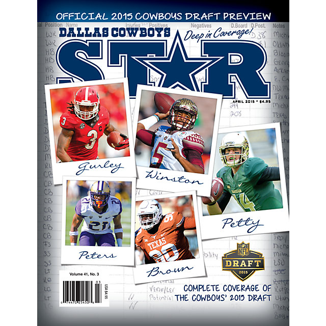 Dallas Cowboys Star Magazine Draft Preview Issue 2015
