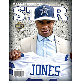 Dallas Cowboys Star Magazine May 2015 Issue: 2015 NFL Draft Recap Edition