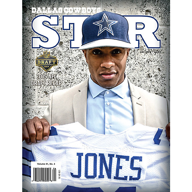 Dallas Cowboys Star Magazine May 2015 Issue: 2015 NFL Draft Recap Edition