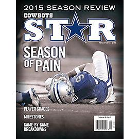 Dallas Cowboys Star Magazine February 2016 Issue: 2015 Season Review