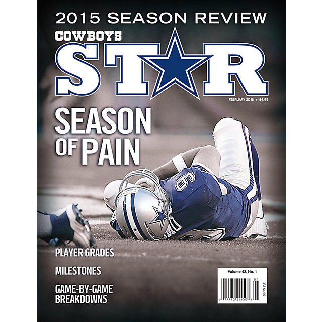 Dallas Cowboys Star Magazine February 2016 Issue: 2015 Season Review