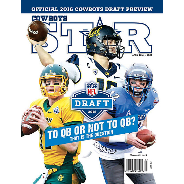 Dallas Cowboys Star Magazine Draft Preview 2016 Issue
