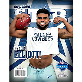 Dallas Cowboys Star Magazine May 2016 Issue: 2016 NFL Draft Recap Edition