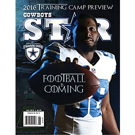 Dallas Cowboys Star Magazine Training Camp Issue 2016