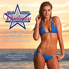 2017 7x7 Dallas Cowboys Cheerleaders Mini Calendar