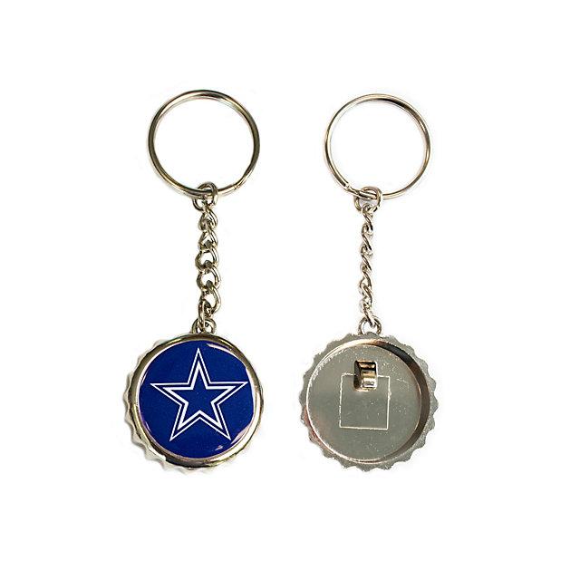 Dallas Cowboys Bottle Cap Key Tag