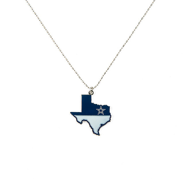 Dallas Cowboys State of Texas Necklace