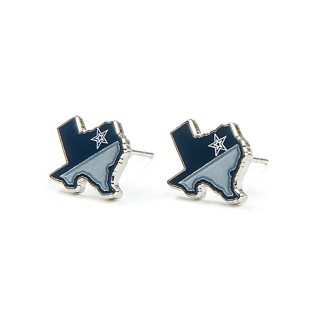 Dallas Cowboys State of Texas Earrings