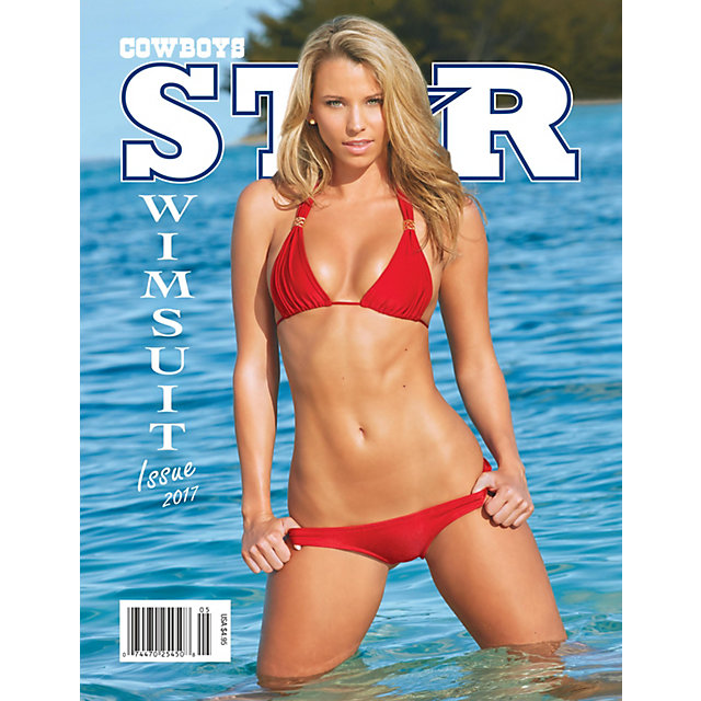 Dallas Cowboys Star Magazine Swimsuit Issue 2017