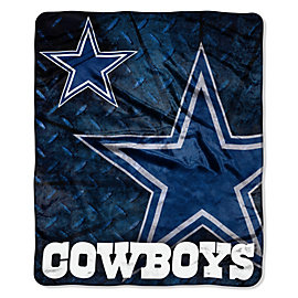 Dallas Cowboys Roll Out Raschel Throw Blanket