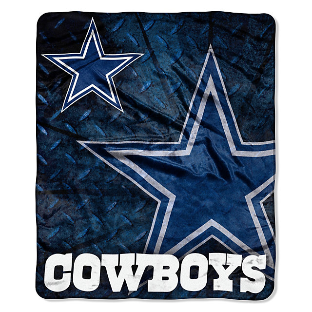 Dallas Cowboys Roll Out Raschel Throw Blanket