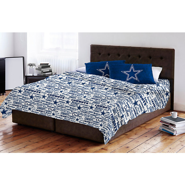 Dallas Cowboys Bedding - Full Sheet Set
