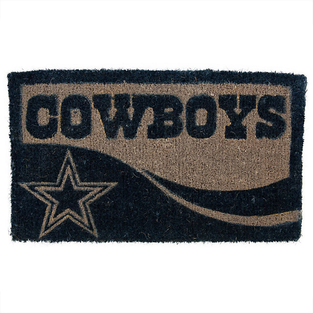 Dallas Cowboys Graphic Print Coir Door Mat