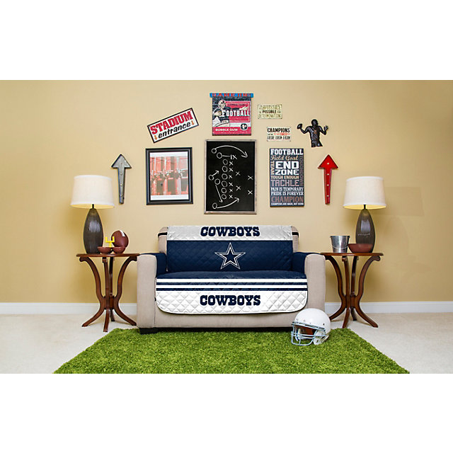 Dallas Cowboys Love Seat Protector