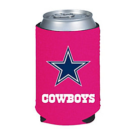 Dallas Cowboys Pink Caddy Koozie