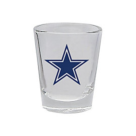 Dallas Cowboys Clear Shot Glass