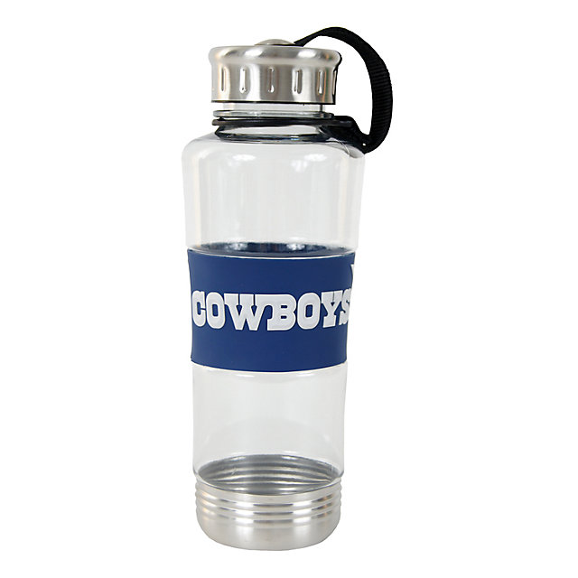 Dallas Cowboys 24 oz. Water Bottle with 3D Wrap
