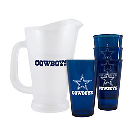 Dallas Cowboys Plastic Pitcher Set