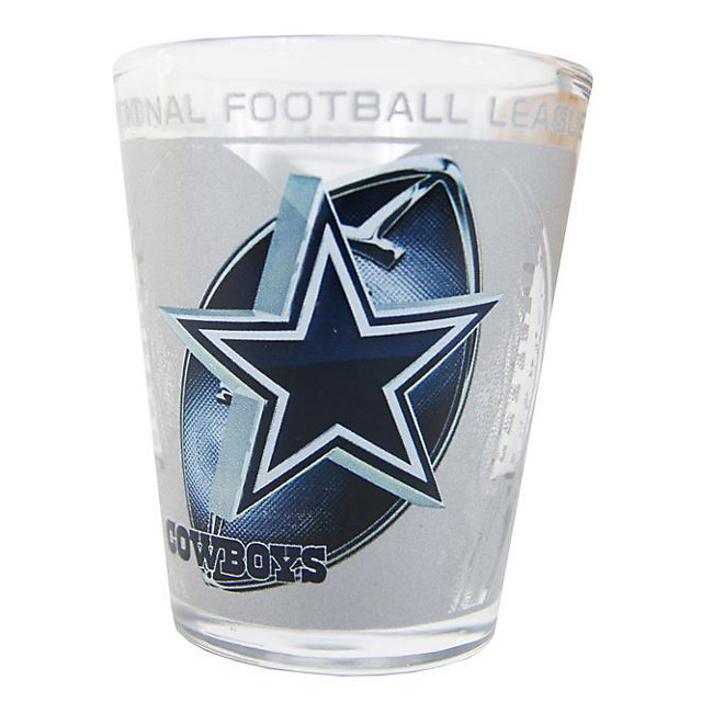 Dallas Cowboys Hi-Def 3D Shot Glass