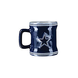 Dallas Cowboys Sculpted Mini Mug Shot Glass