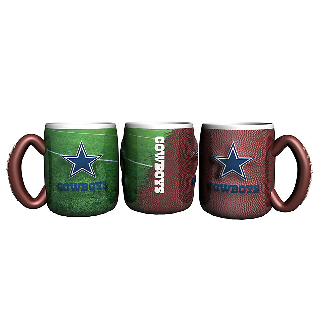 Dallas Cowboys Sculpted Field Mug