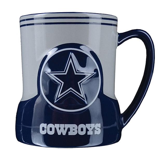 Dallas Cowboys Sculpted Gametime Mug