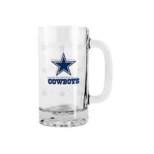 Dallas Cowboys 16 oz Satin Etch Tankard