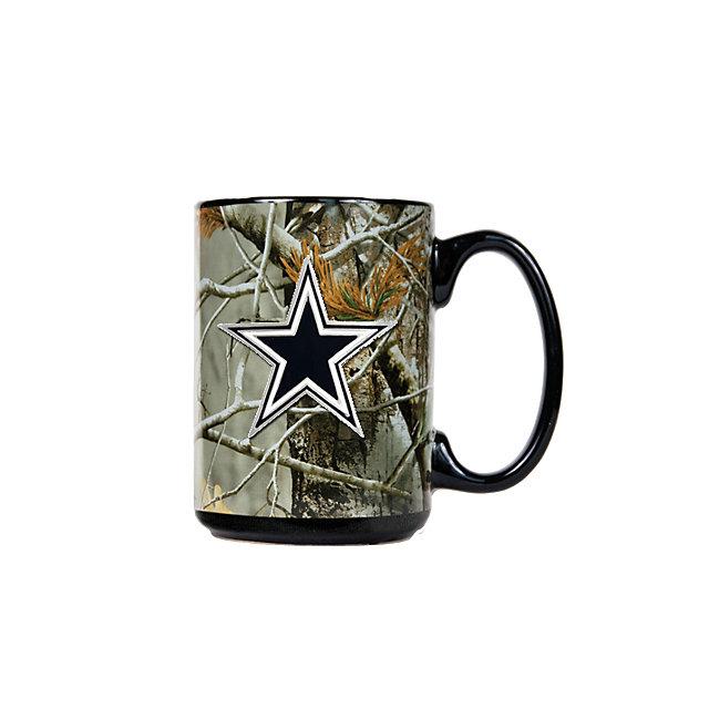 Dallas Cowboys Camo Decorated Mug