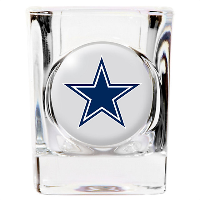 Dallas Cowboys Crystal Emblem Shot Glass