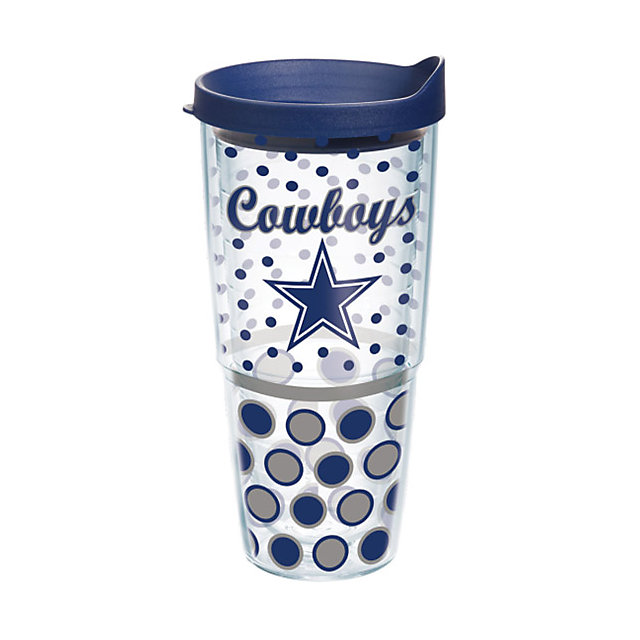 Dallas Cowboys Tervis 24 oz. Polka Dot Travel Mug