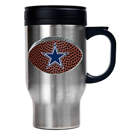 Dallas Cowboys Gameball 16 oz. Stainless Steel Travel Mug