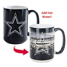 Dallas Cowboys 15 oz. Color Changing Mug