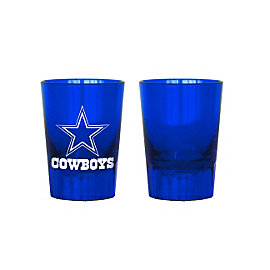 Dallas Cowboys 2-Pack Plastic Shot Glasses